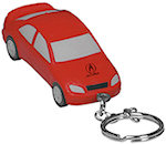 Luxury Car Key Chain Stress Balls